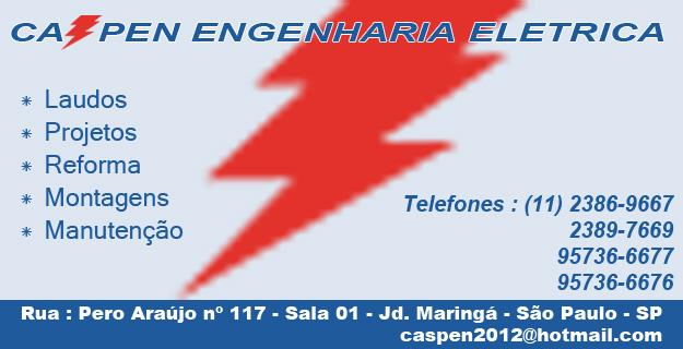Caspen Engenharia e Laudos Elétrica