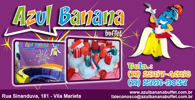 Buffet Azul Banana